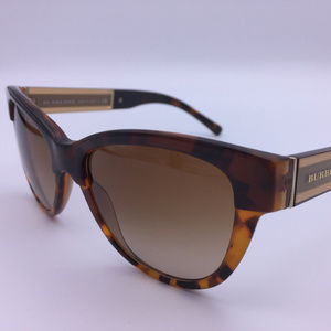 Burberry B 4206 3559/13 Brown Sunglasses ODU